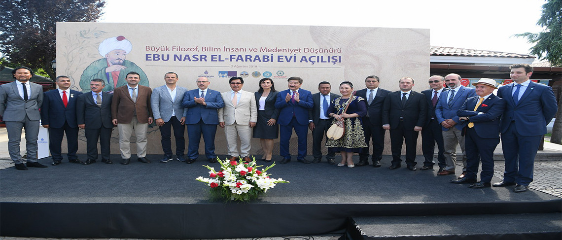 Ebu Nasr El Farabi Evi açıldı