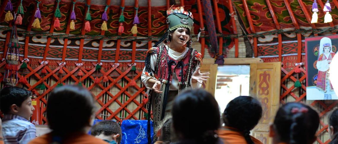 Türk Dünyası Kültür Mahallesi Türk Masallarına Ev Sahipliği Yapıyor