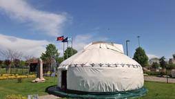 Kırgız Keçe Çadırı