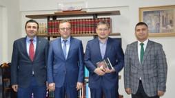 Kazak Al Farabi Üniversitesinden İBB Kültür A.Ş.'ye Ziyaret