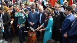 Nevruz, Türk Dünyası Kültür Mahallesi'nde coşkuyla kutlandı