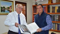 Macar Turan Vakfı Başkanı Andras Biro, Türk Dünyası Kültür Mahallesi'nde