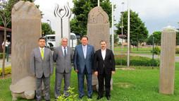 Ayrat Sibagatullin, Minister of Culture of Tatarstan Visits Kültür A.Ş.