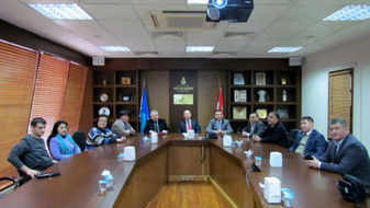 Visit from the Deputy Minister Chakiev to Culture Co.