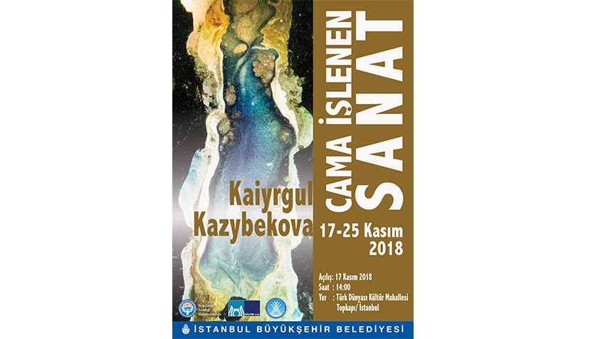 """""""Cama İşlenen Sanat"""" sergisi  Türk Dünyası Kültür Mahallesi'nde"""