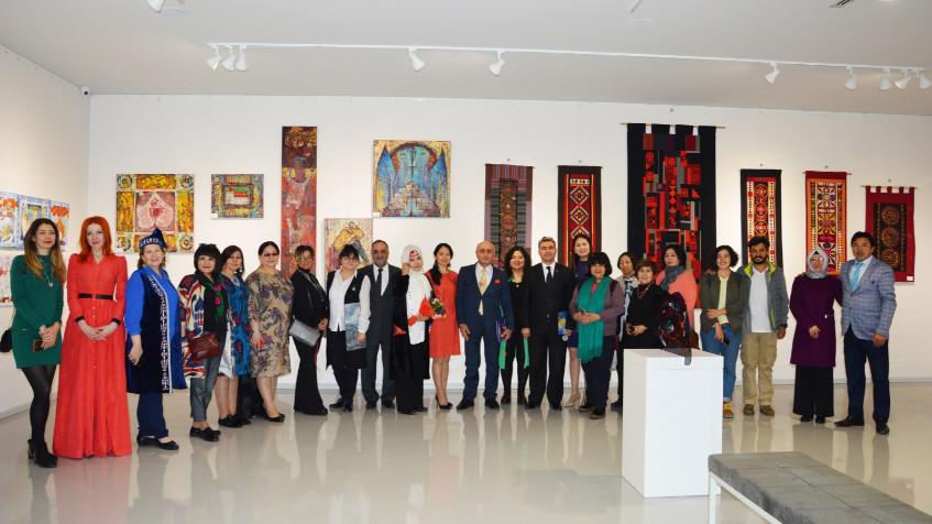 Türk Dünyasından Kadın Sanatçılar İstanbul'da Buluştu