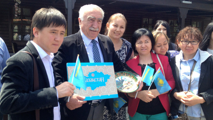 Visit from Kazakh students to Topkapı Turkish World Cultural Site