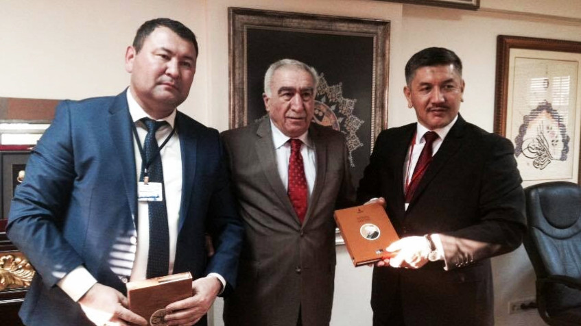 Visit from the Parliament of Kyrgyzstan to Nevzat Kütük, the General Director of Culture Co.