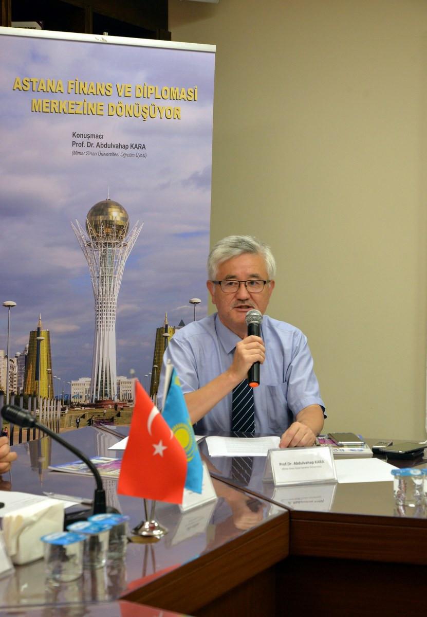 """20.Yılında Finans ve Diplomasi Merkezi """"ASTANA"""" Galeri - 1. Resim"""