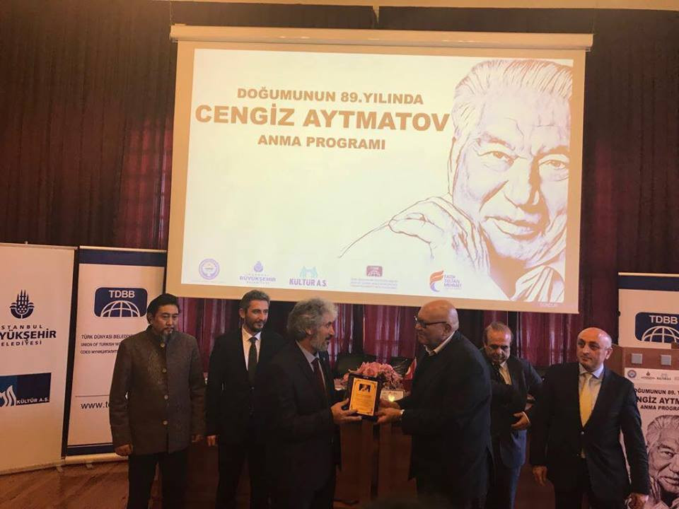 """""""Doğumunun 89. Yılında Cengiz Aytmatov"""" Rahmetle Anıldı Galeri - 46. Resim"""