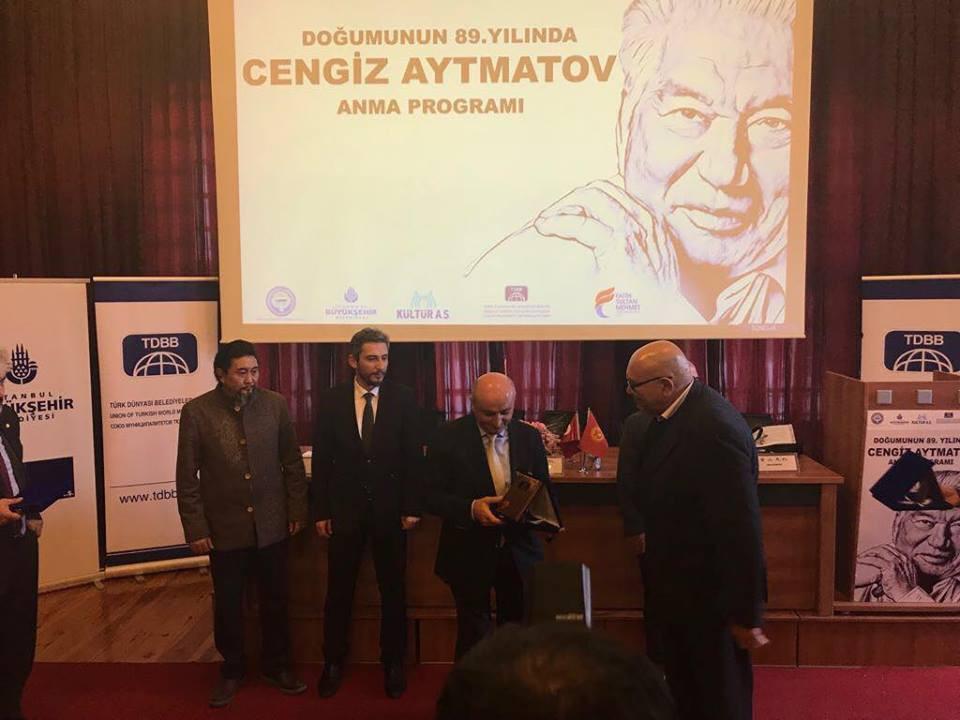 """""""Doğumunun 89. Yılında Cengiz Aytmatov"""" Rahmetle Anıldı Galeri - 35. Resim"""