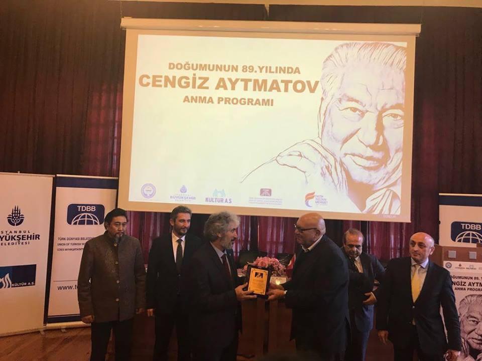 """""""Doğumunun 89. Yılında Cengiz Aytmatov"""" Rahmetle Anıldı Galeri - 31. Resim"""