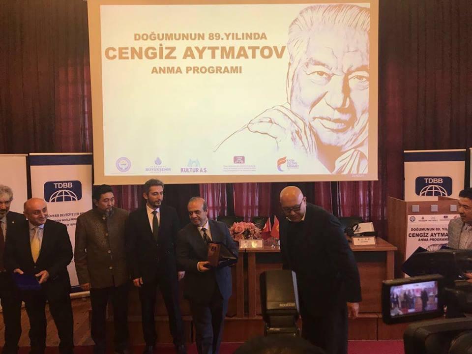 """""""Doğumunun 89. Yılında Cengiz Aytmatov"""" Rahmetle Anıldı Galeri - 49. Resim"""