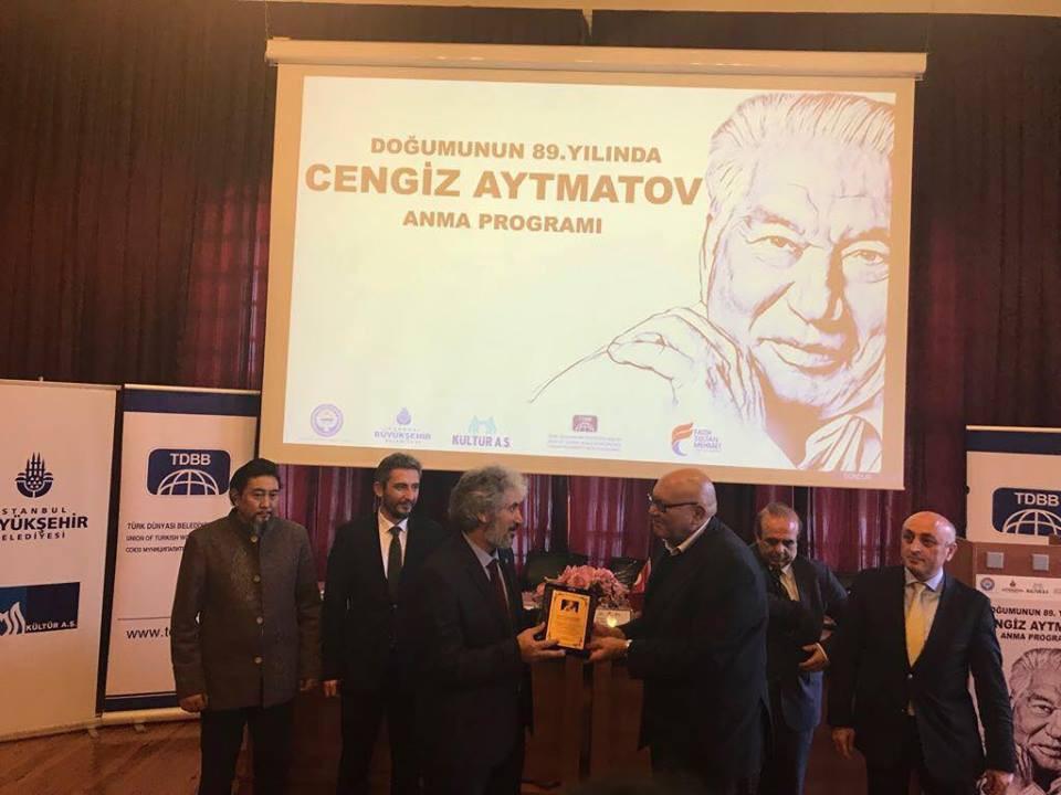 """""""Doğumunun 89. Yılında Cengiz Aytmatov"""" Rahmetle Anıldı Galeri - 47. Resim"""