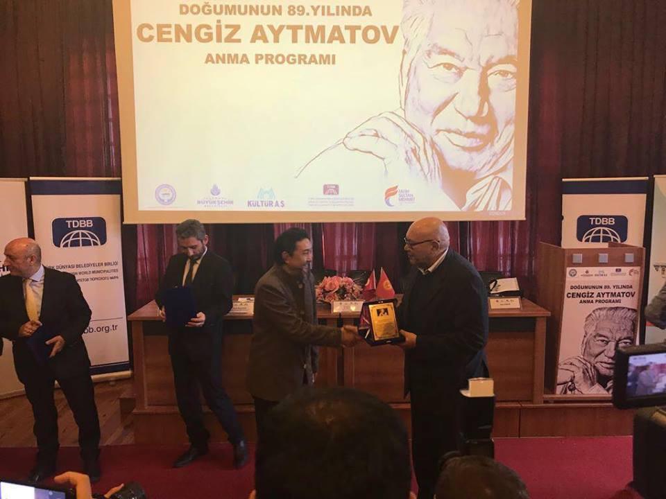 """""""Doğumunun 89. Yılında Cengiz Aytmatov"""" Rahmetle Anıldı Galeri - 39. Resim"""