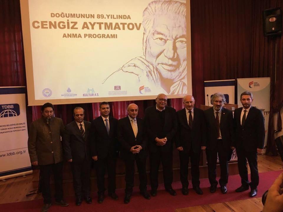 """""""Doğumunun 89. Yılında Cengiz Aytmatov"""" Rahmetle Anıldı Galeri - 34. Resim"""