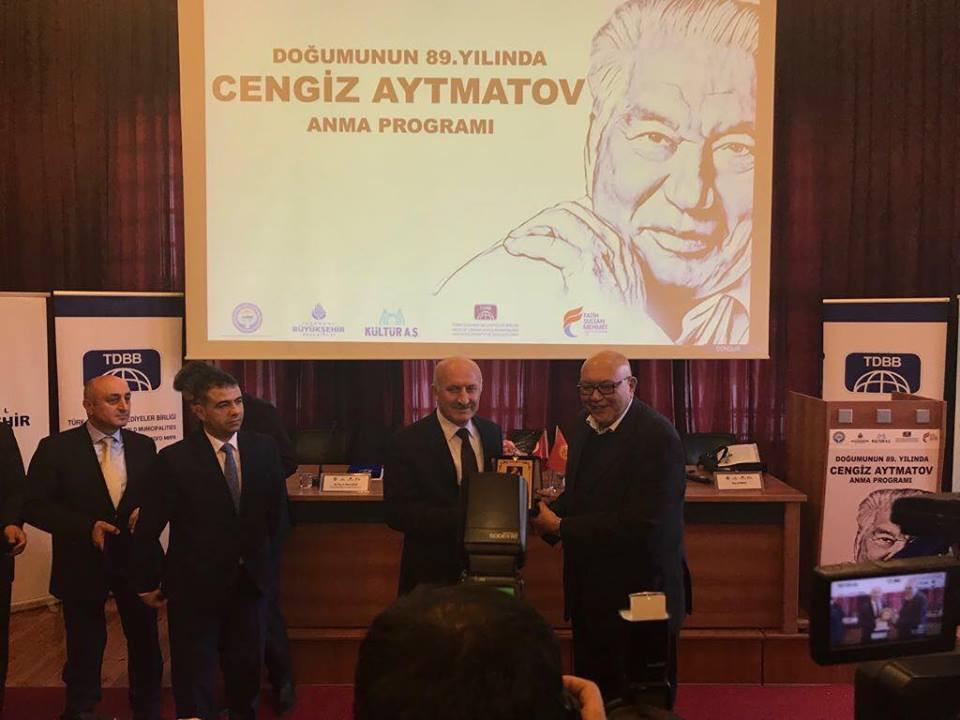 """""""Doğumunun 89. Yılında Cengiz Aytmatov"""" Rahmetle Anıldı Galeri - 45. Resim"""
