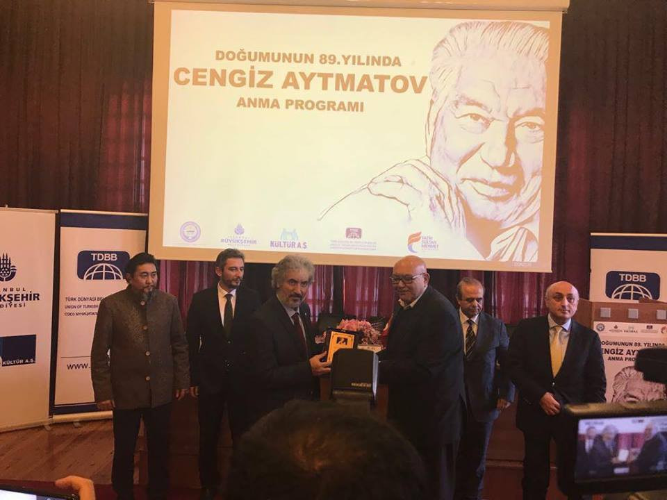 """""""Doğumunun 89. Yılında Cengiz Aytmatov"""" Rahmetle Anıldı Galeri - 33. Resim"""