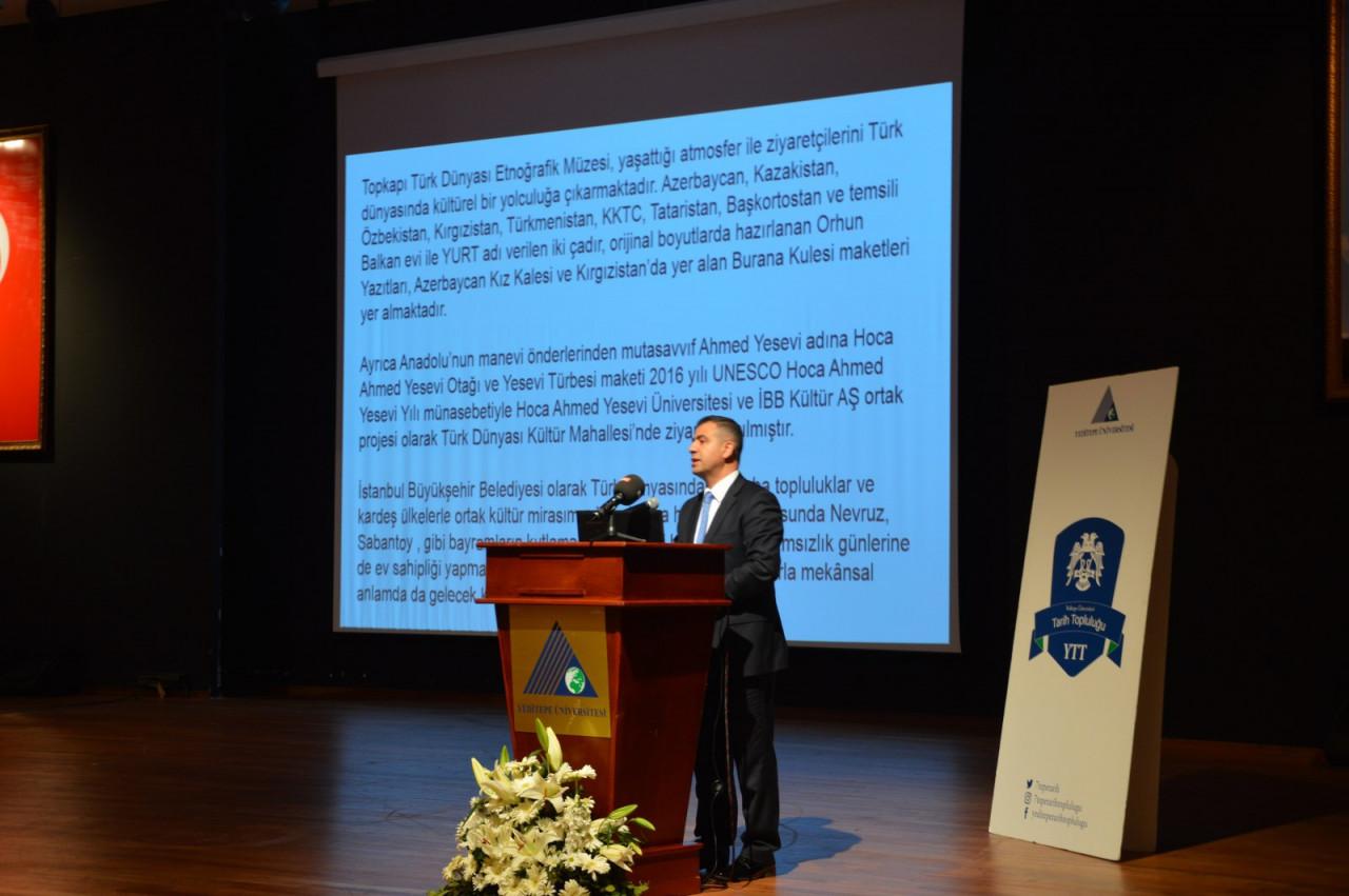 I. Uluslararası Türk Kültürü Ve Tarihi Sempozyumu Yeditepe Üniversitesi'nde Başladı Galeri - 58. Resim