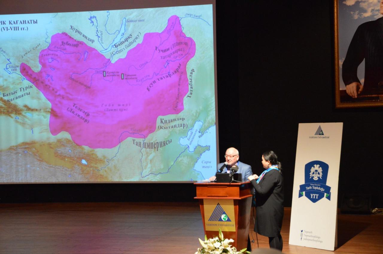 I. Uluslararası Türk Kültürü Ve Tarihi Sempozyumu Yeditepe Üniversitesi'nde Başladı Galeri - 68. Resim
