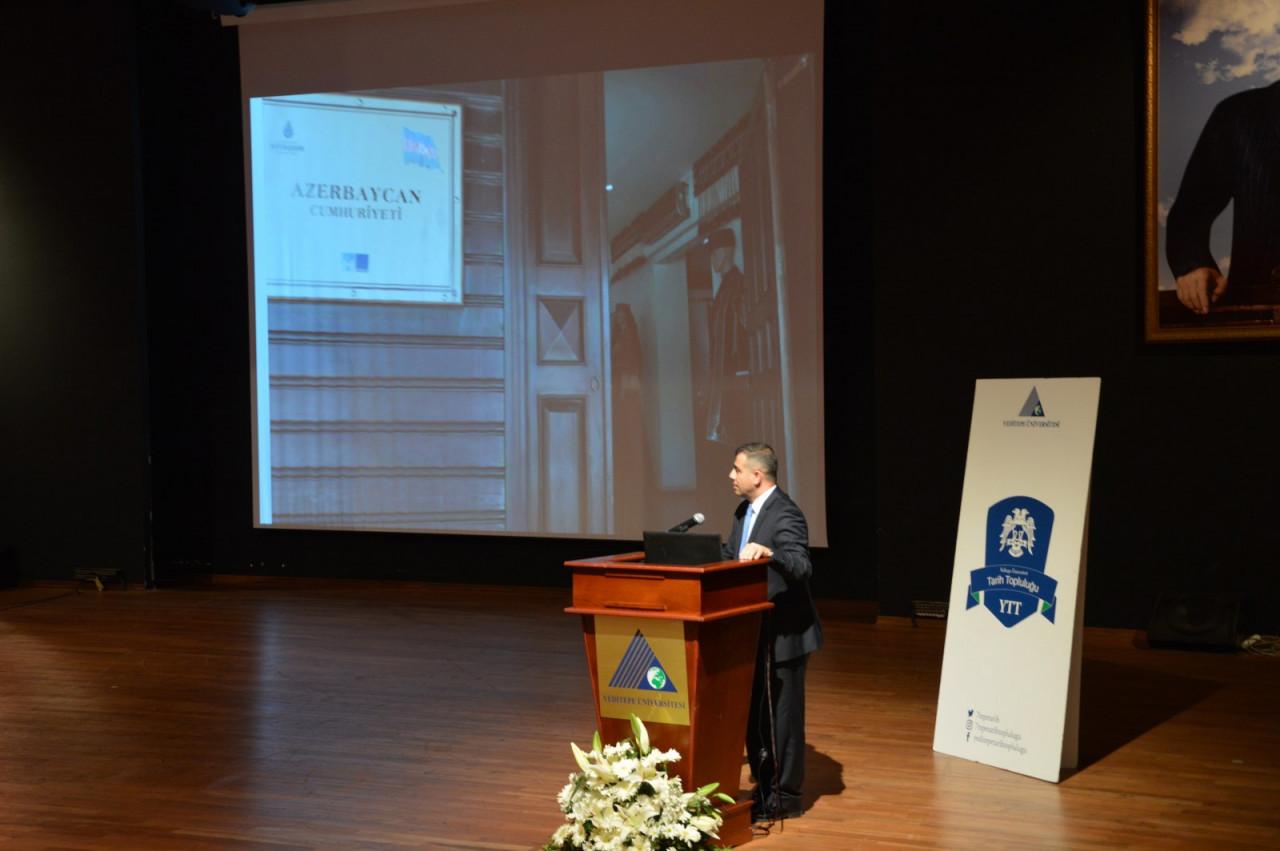 I. Uluslararası Türk Kültürü Ve Tarihi Sempozyumu Yeditepe Üniversitesi'nde Başladı Galeri - 48. Resim
