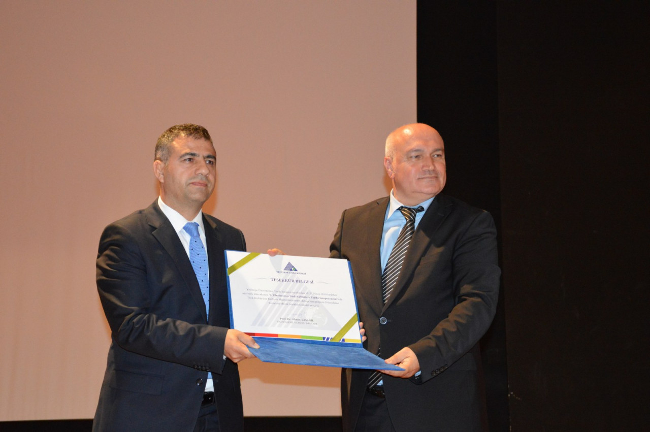 I. Uluslararası Türk Kültürü Ve Tarihi Sempozyumu Yeditepe Üniversitesi'nde Başladı Galeri - 16. Resim