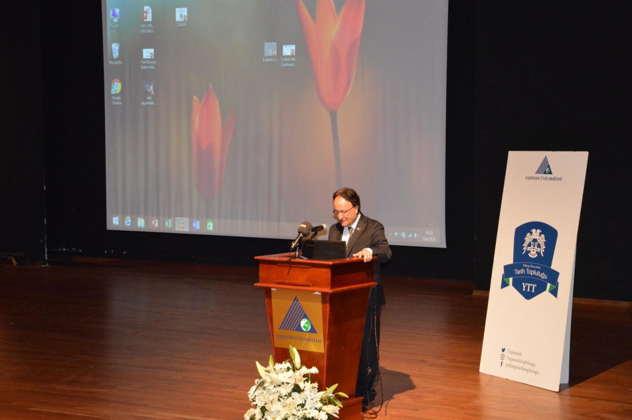 I. Uluslararası Türk Kültürü Ve Tarihi Sempozyumu Yeditepe Üniversitesi'nde Başladı Galeri - 8. Resim