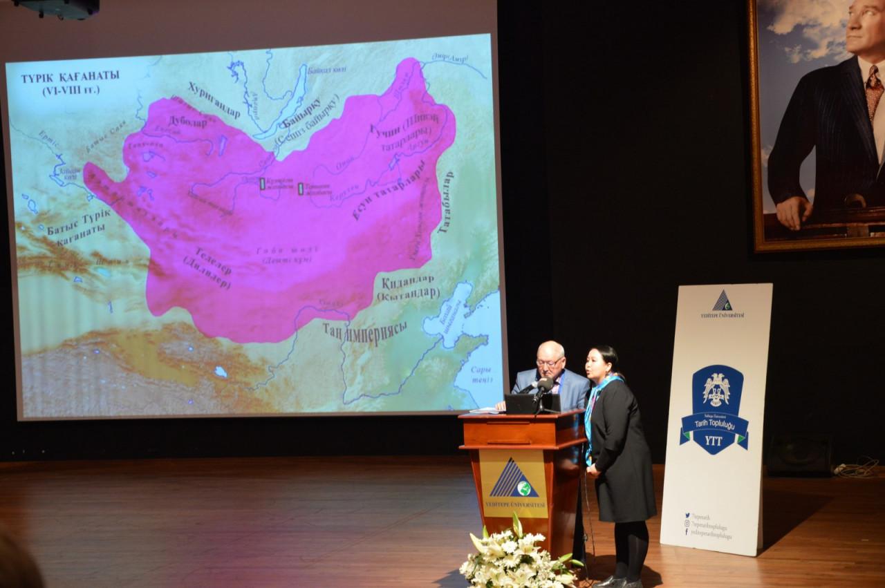 I. Uluslararası Türk Kültürü Ve Tarihi Sempozyumu Yeditepe Üniversitesi'nde Başladı Galeri - 67. Resim
