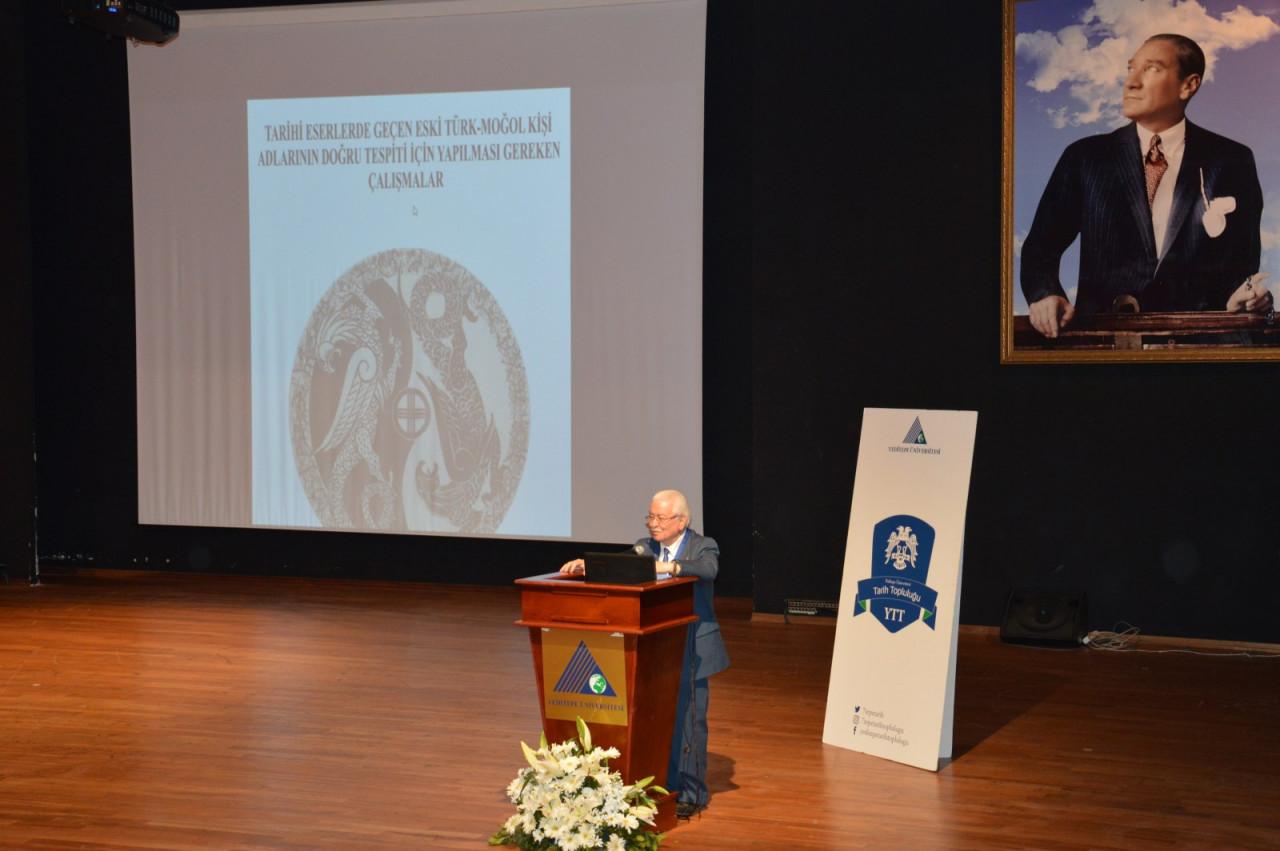 I. Uluslararası Türk Kültürü Ve Tarihi Sempozyumu Yeditepe Üniversitesi'nde Başladı Galeri - 45. Resim