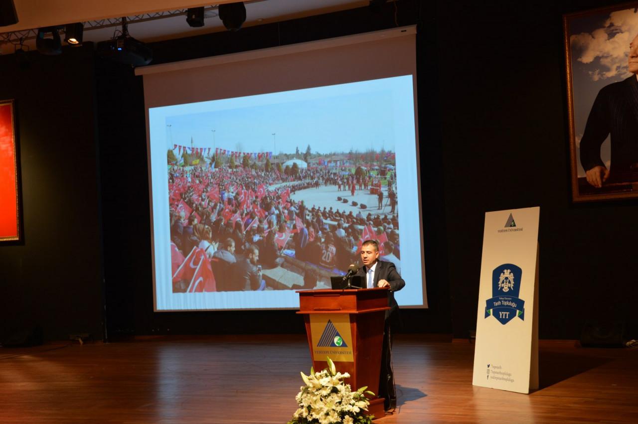 I. Uluslararası Türk Kültürü Ve Tarihi Sempozyumu Yeditepe Üniversitesi'nde Başladı Galeri - 65. Resim