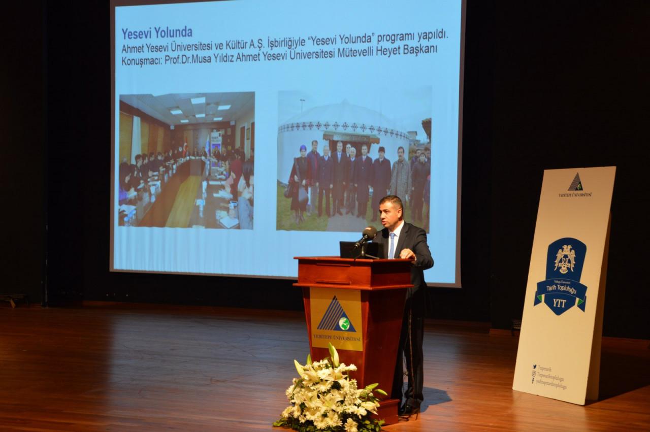 I. Uluslararası Türk Kültürü Ve Tarihi Sempozyumu Yeditepe Üniversitesi'nde Başladı Galeri - 62. Resim