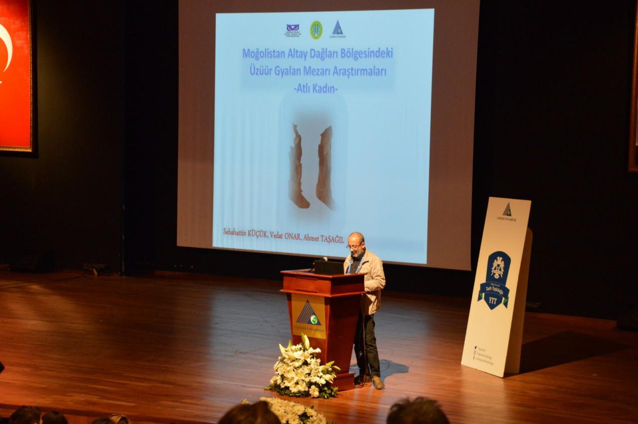 I. Uluslararası Türk Kültürü Ve Tarihi Sempozyumu Yeditepe Üniversitesi'nde Başladı Galeri - 34. Resim