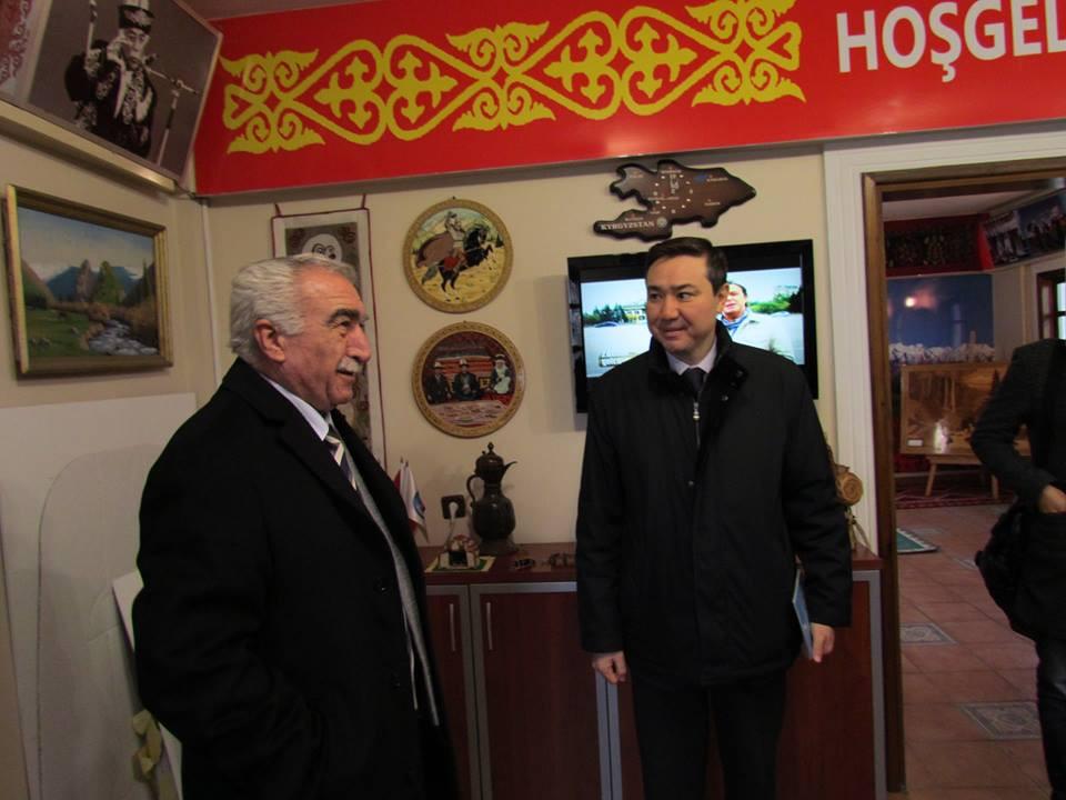 Kazakhstan İstanbul Consul General visited Topkapı Turkish Cultural Site Galeri - 3. Resim