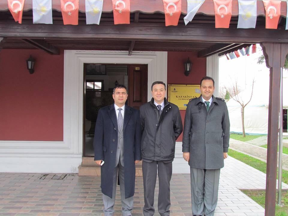 Kazakhstan İstanbul Consul General visited Topkapı Turkish Cultural Site Galeri - 7. Resim
