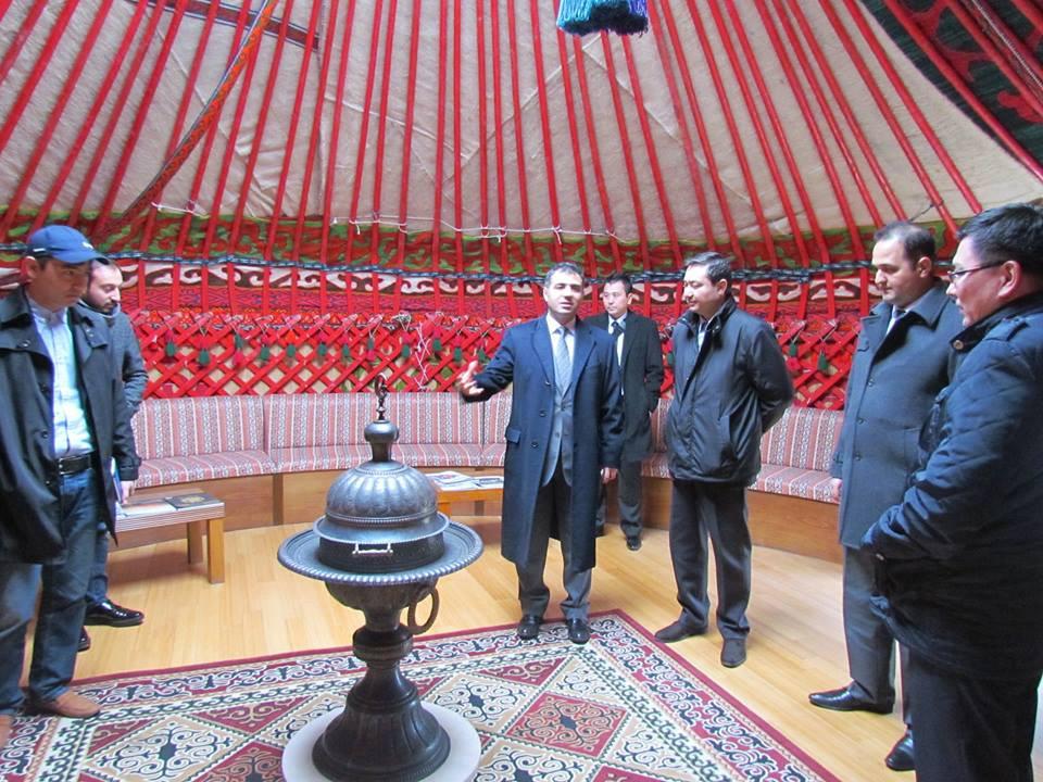 Kazakhstan İstanbul Consul General visited Topkapı Turkish Cultural Site Galeri - 4. Resim