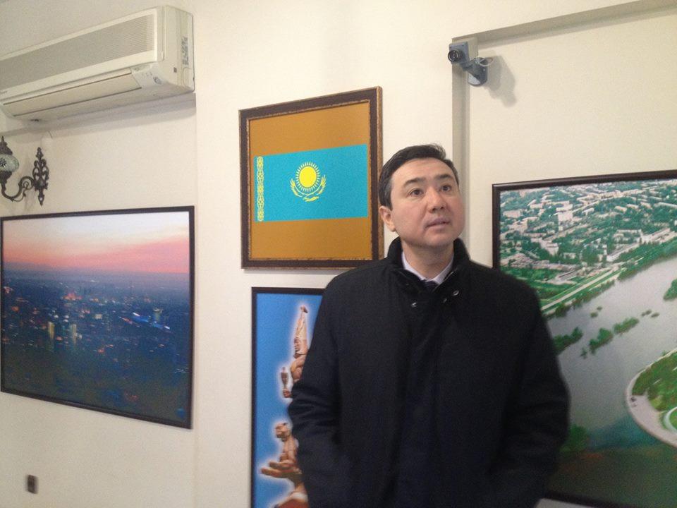 Kazakhstan İstanbul Consul General visited Topkapı Turkish Cultural Site Galeri - 2. Resim