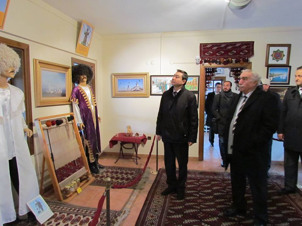 Kazakhstan İstanbul Consul General visited Topkapı Turkish Cultural Site Galeri - 9. Resim