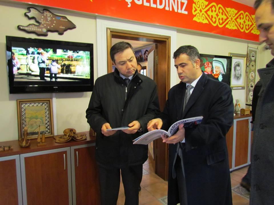 Kazakhstan İstanbul Consul General visited Topkapı Turkish Cultural Site Galeri - 8. Resim