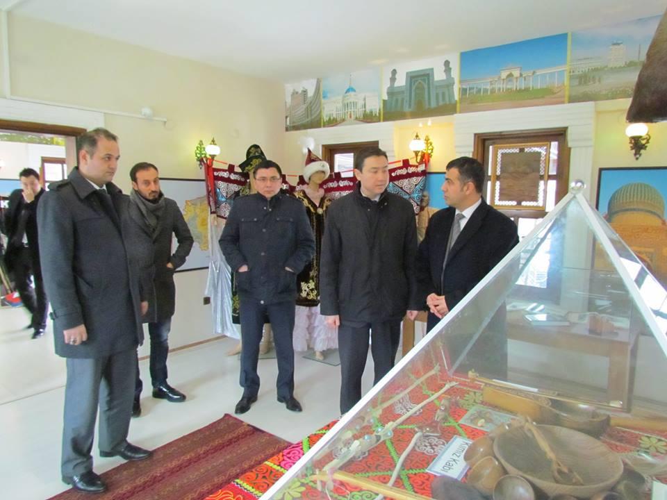 Kazakhstan İstanbul Consul General visited Topkapı Turkish Cultural Site Galeri - 5. Resim