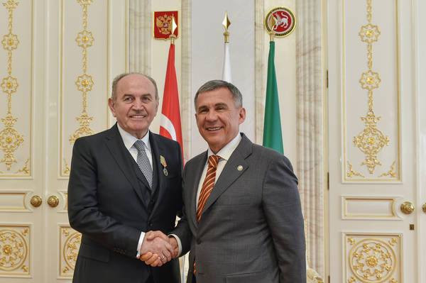 Medal of Honour to Mayor Kadir Topbaş Galeri - 7. Resim