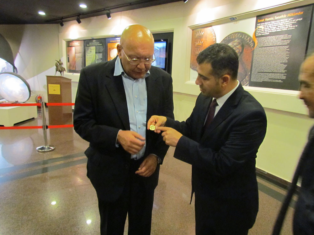 Mr. Aytmatov and Mr. Arslanbek Sultanbekov visited the Topkapı Turkish World Galeri - 45. Resim