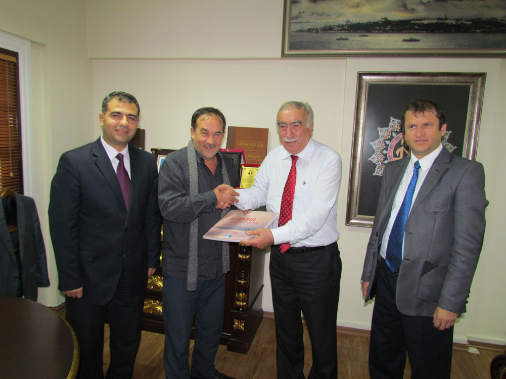Mr. Aytmatov and Mr. Arslanbek Sultanbekov visited the Topkapı Turkish World Galeri - 3. Resim