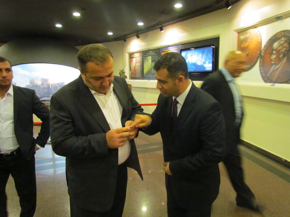 Mr. Aytmatov and Mr. Arslanbek Sultanbekov visited the Topkapı Turkish World Galeri - 47. Resim