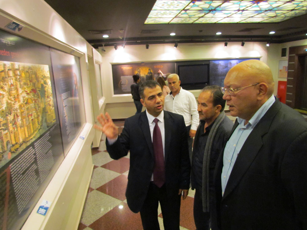Mr. Aytmatov and Mr. Arslanbek Sultanbekov visited the Topkapı Turkish World Galeri - 33. Resim