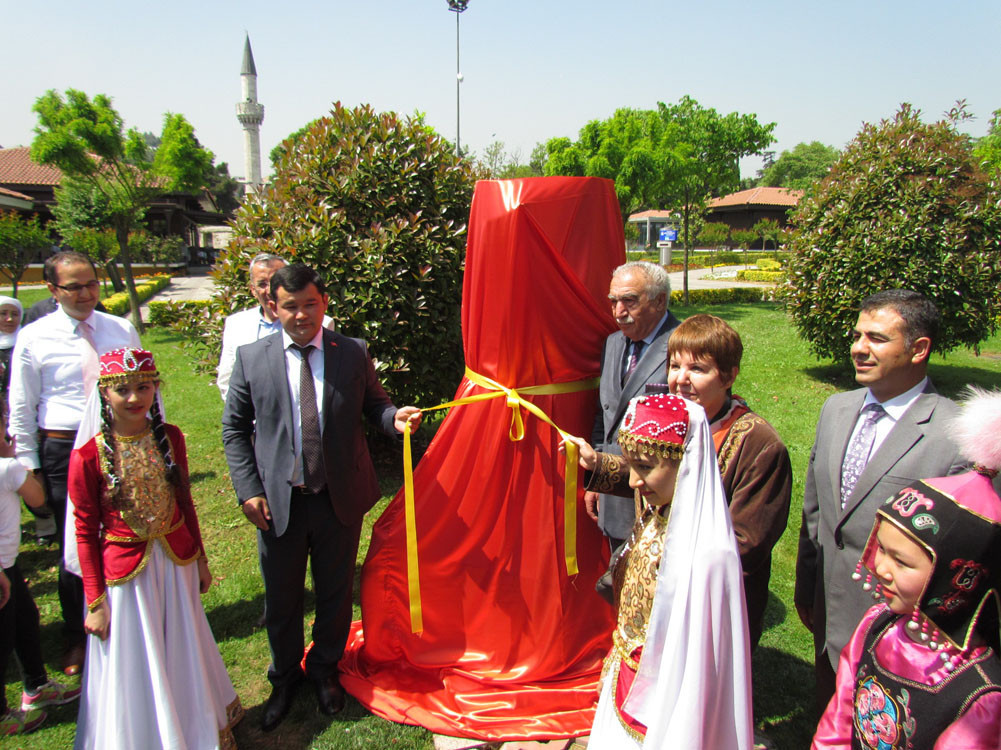 The Burana Tower model is opened to visitors after an official ceremony. Galeri - 1. Resim