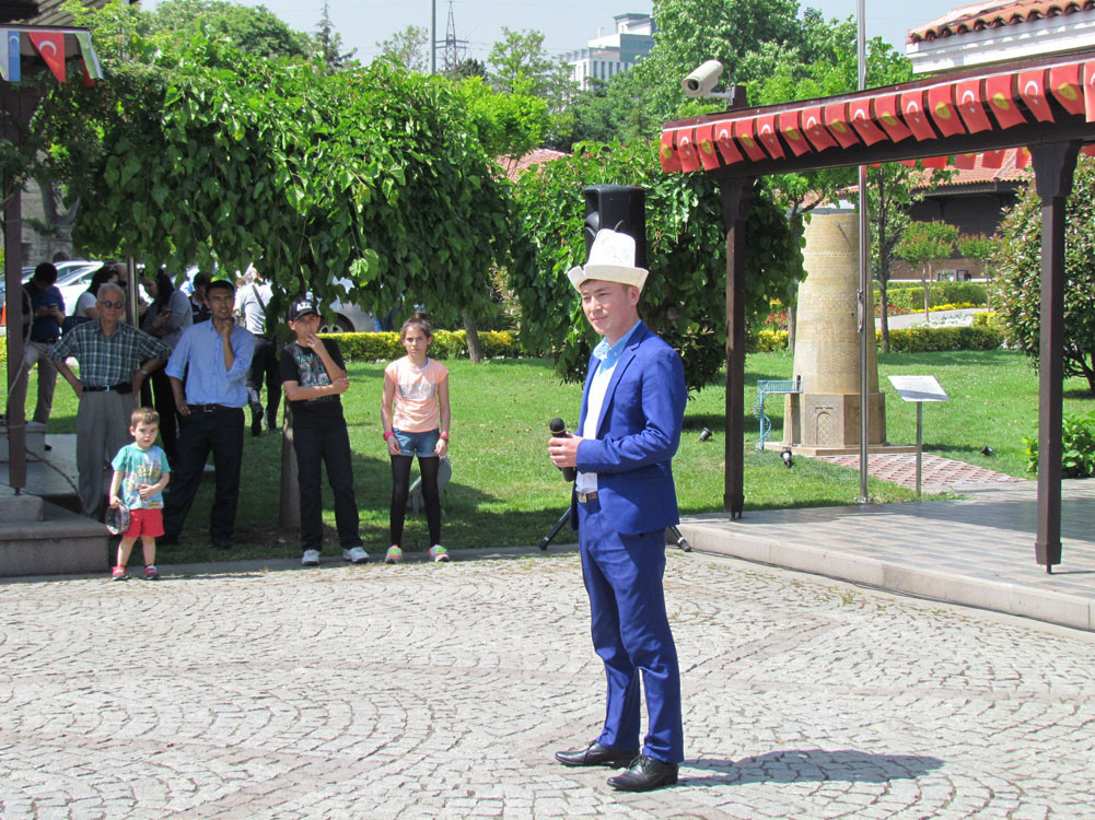 The Burana Tower model is opened to visitors after an official ceremony. Galeri - 21. Resim
