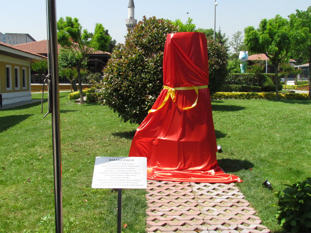 The Burana Tower model is opened to visitors after an official ceremony. Galeri - 6. Resim