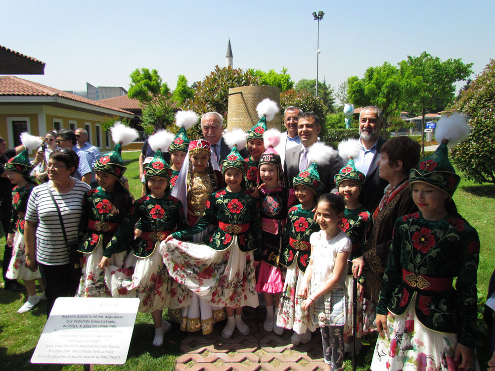 The Burana Tower model is opened to visitors after an official ceremony. Galeri - 8. Resim