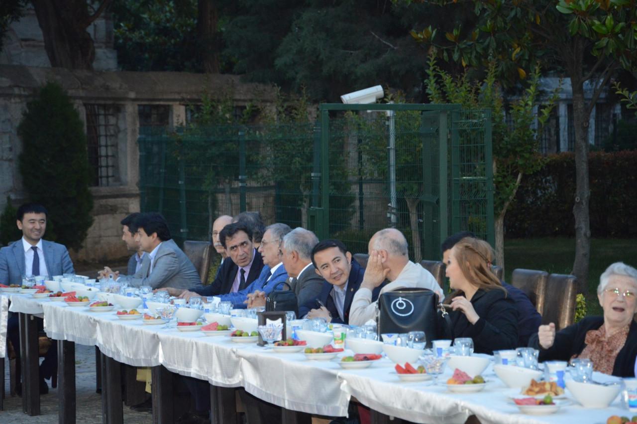 Türk Dünyası Temsilcileri Kültür AŞ İftarında Buluştu Galeri - 4. Resim
