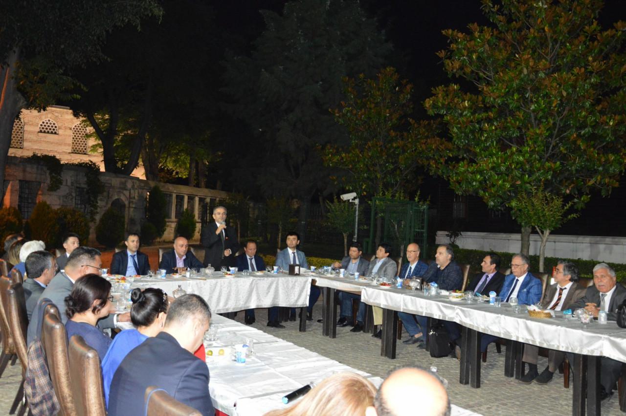 Türk Dünyası Temsilcileri Kültür AŞ İftarında Buluştu Galeri - 7. Resim